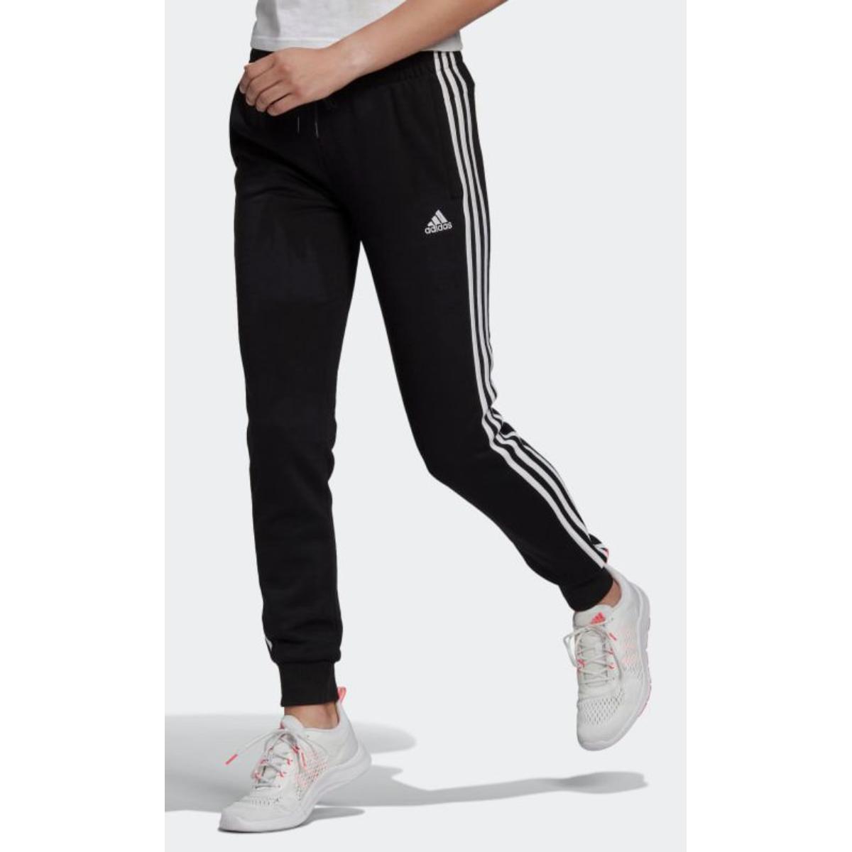 Calça Masculina Adidas Gk8831 m 3s Preto/branco