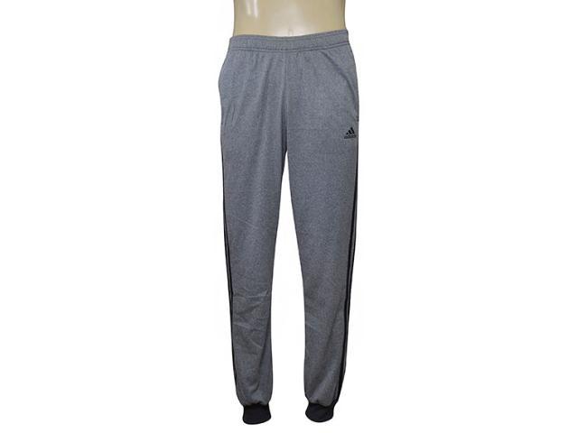 Calça Masculina Adidas B47221 Ess 3s t Tric Cinza/preto