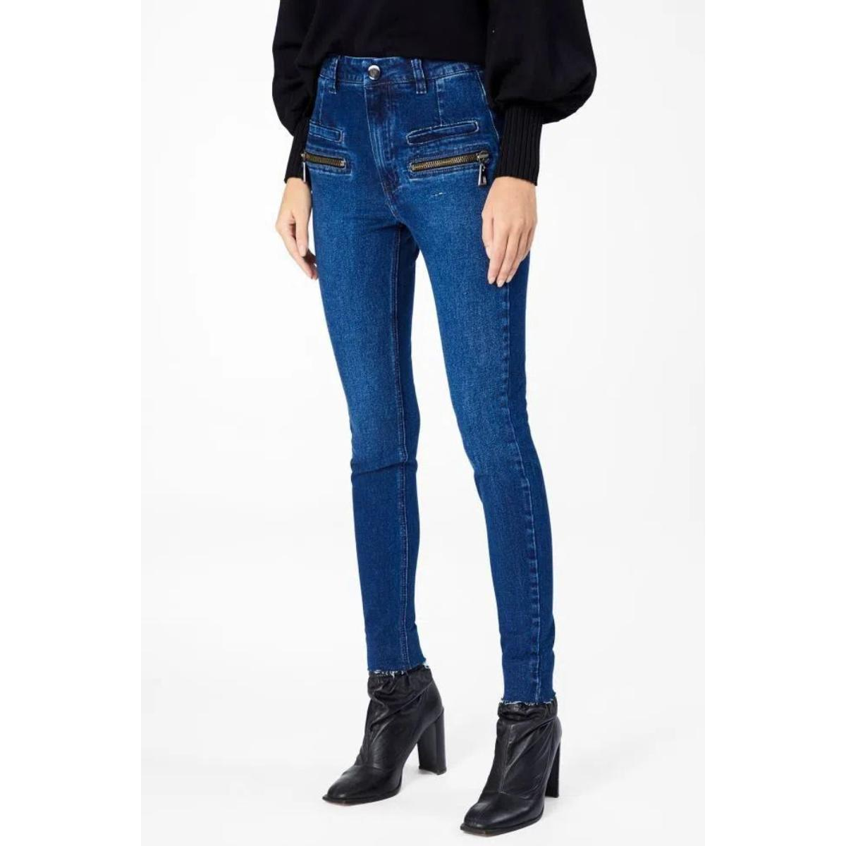 Calça Feminina Animale 04.69.1786 Jeans Escuro