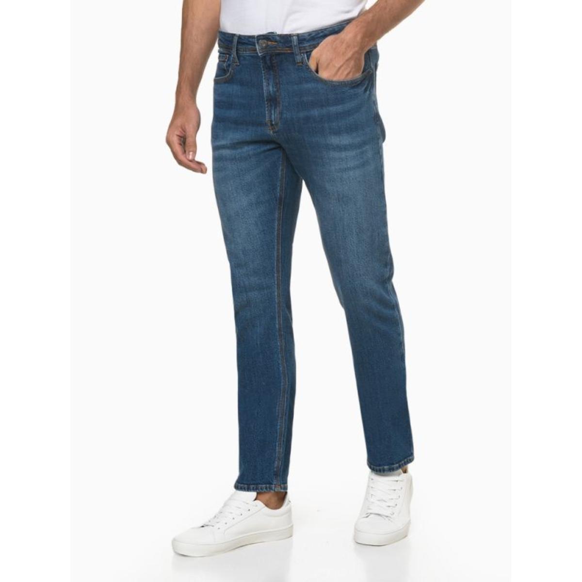 Calça Masculina Calvin Klein Cm1oc11dl222 Jeans