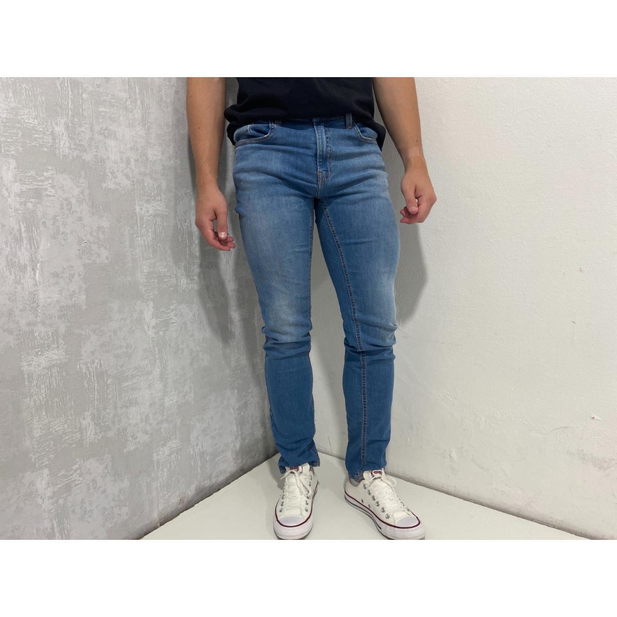Calça Masculina Calvin Klein Ckjm01 Azul Claro