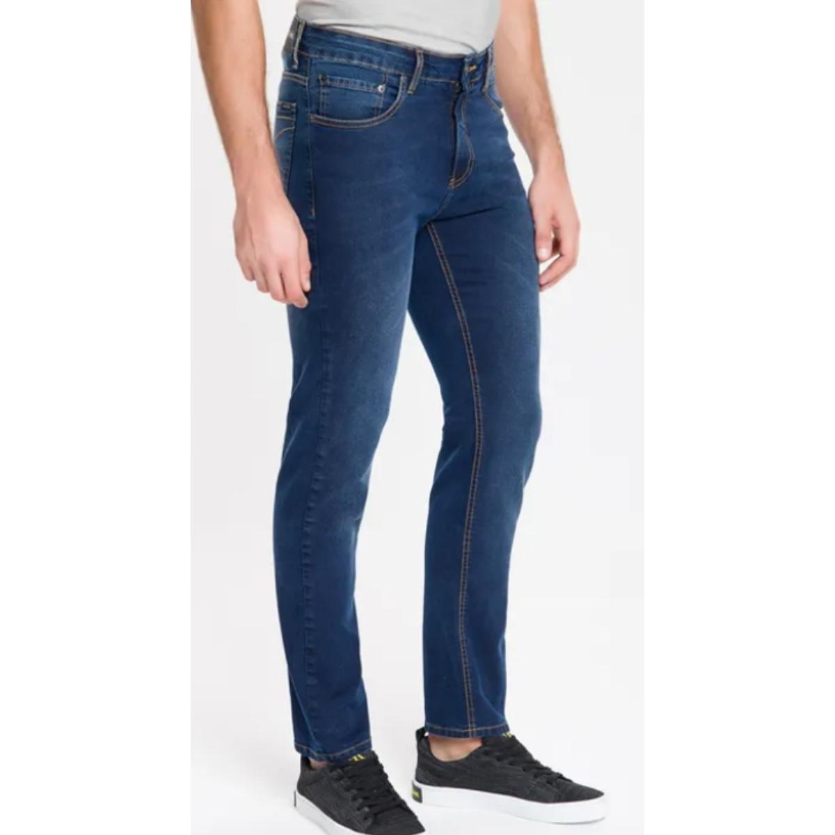 Calça Masculina Calvin Klein Cm0oc11ds331 Marinho