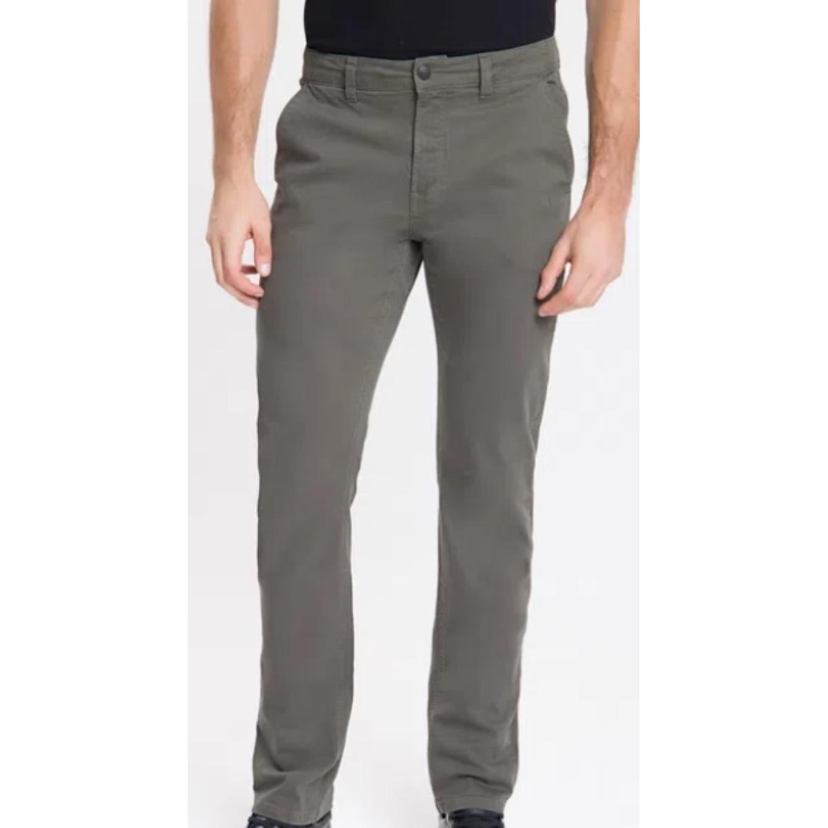Calça Masculina Calvin Klein Cm0oc10cc141 Chumbo