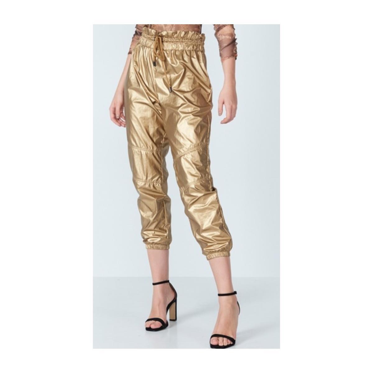 Calça Feminina Colcci 20110610 Vc378 Dourado