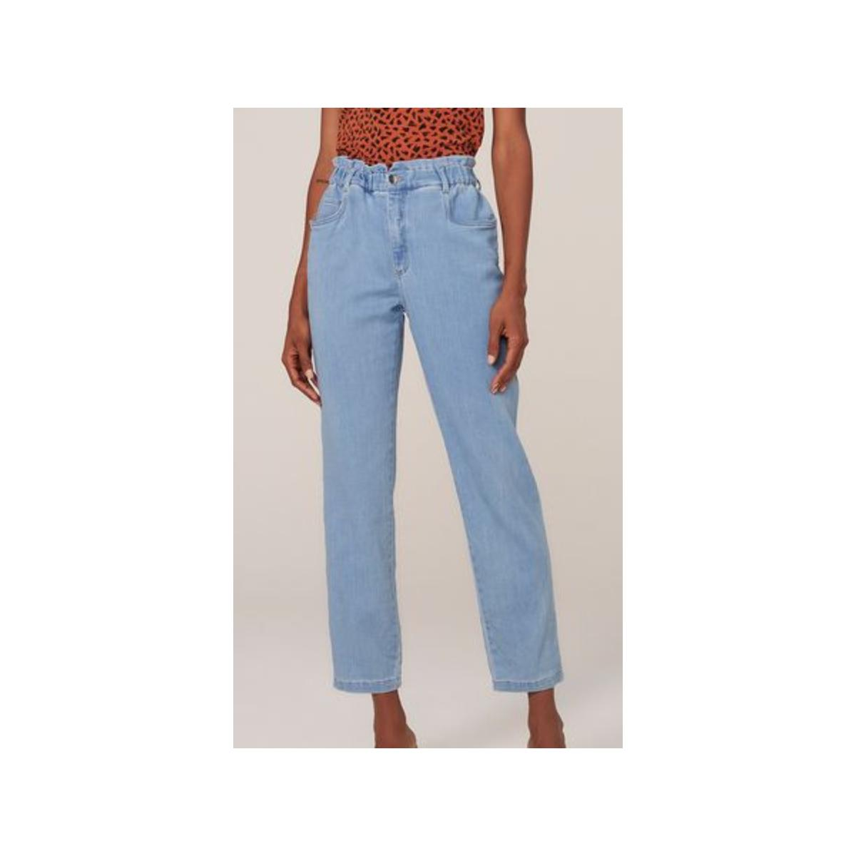 Calça Feminina Dzarm Zu4r 1bsn Jeans Claro