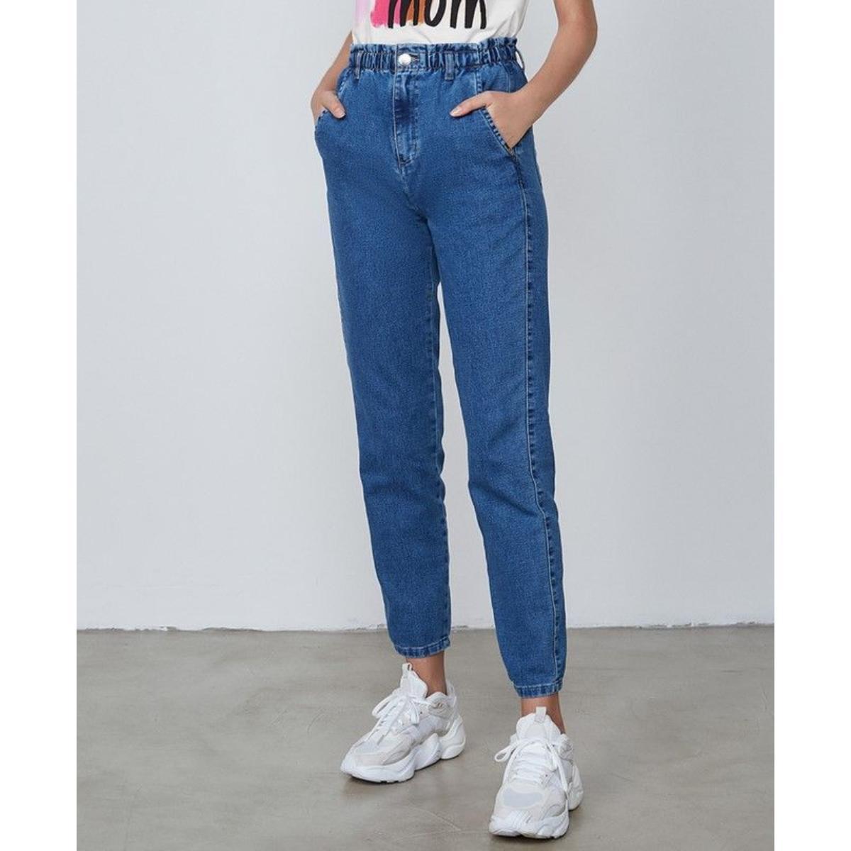 Calça Feminina Dzarm Zu78 1asn Jeans