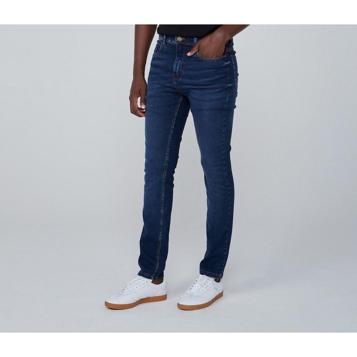 Calça Masculina Dzarm Zu6u 1asn Jeans Escuro