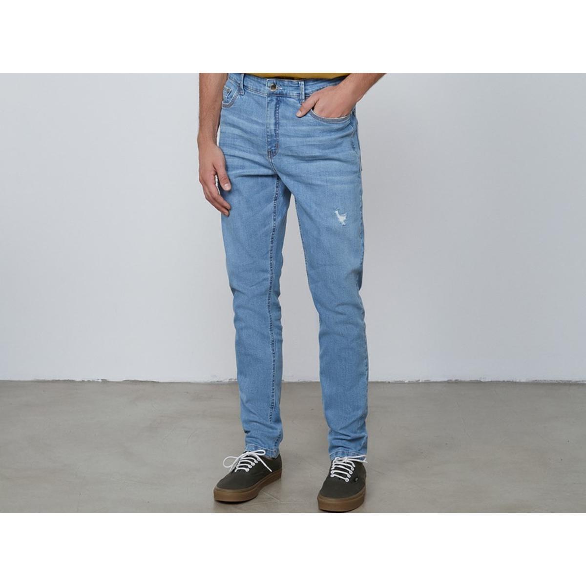 Calça Masculina Dzarm Zu7t 1bsn Jeans Claro