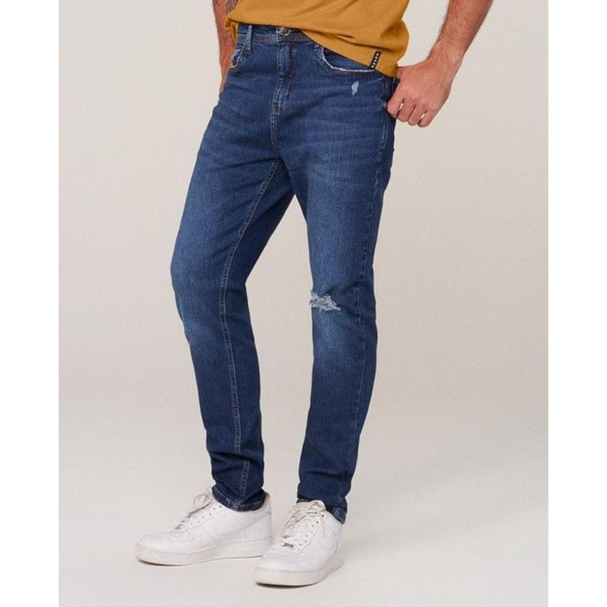 Calça Masculina Dzarm Zu66 1asn  Jeans Escuro