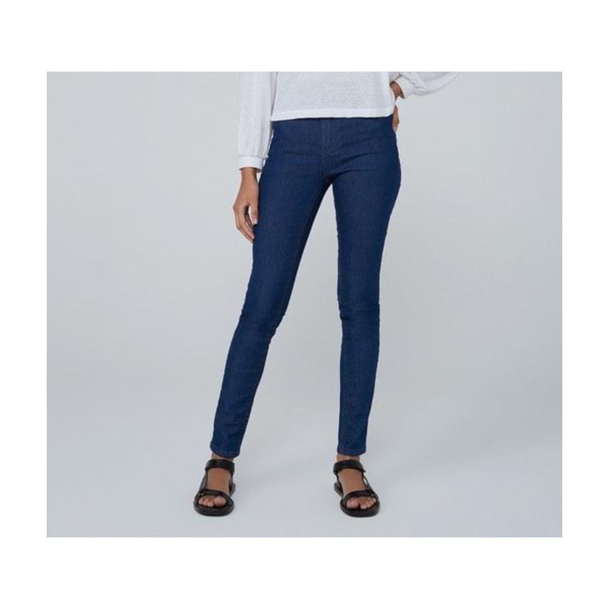 Calça Feminina Dzarm Zu5v 1asn Jeans Escuro