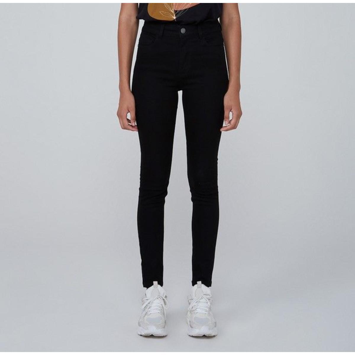 Calça Feminina Dzarm Zmu4 1esi Jeans Escuro