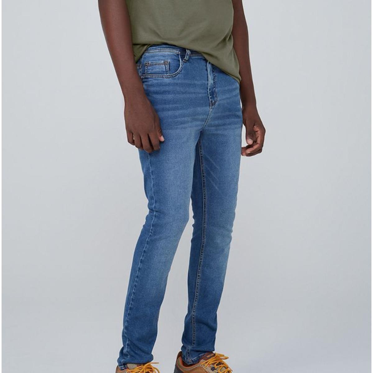 Calça Masculina Dzarm Zu6u 1bsn Jeans Claro
