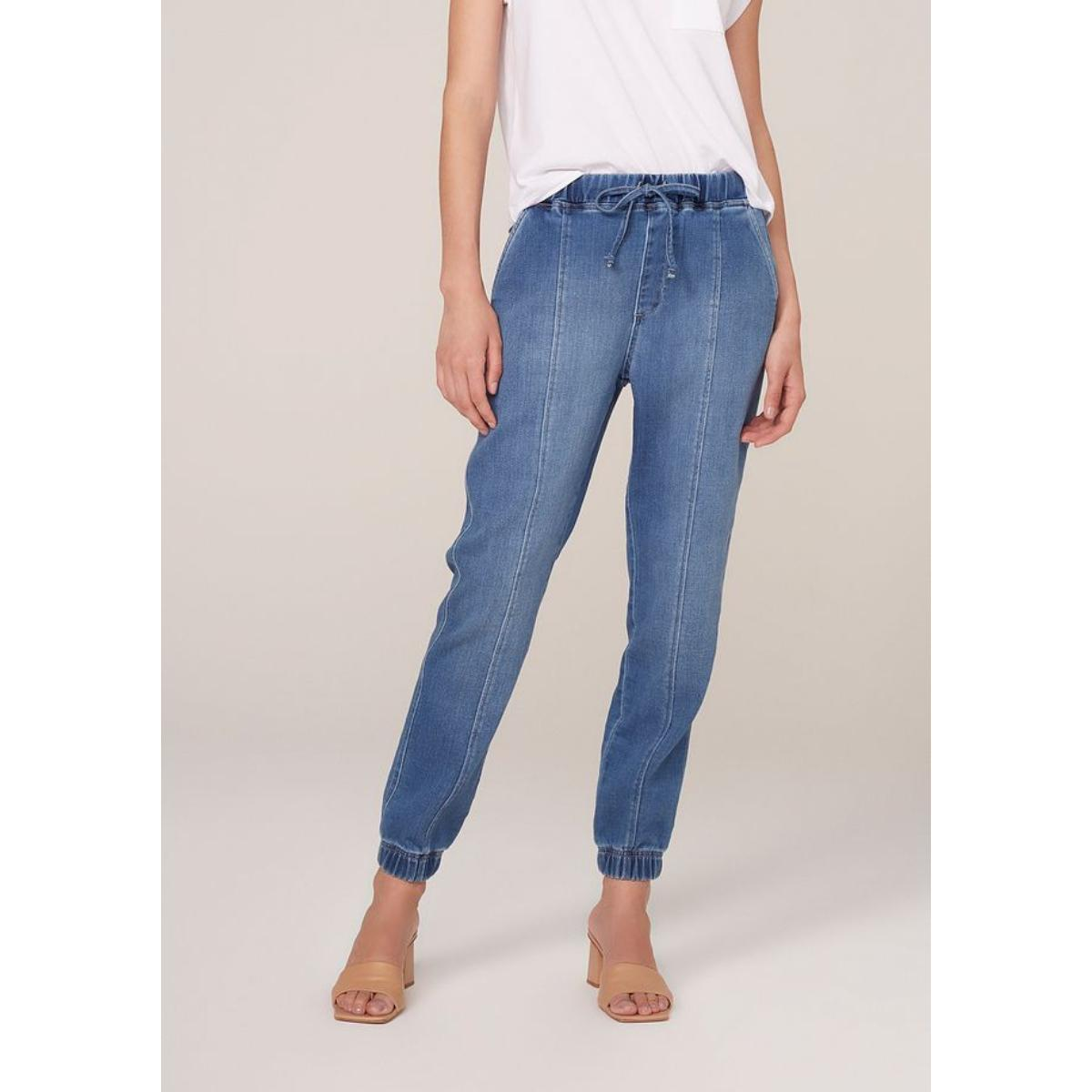Calça Feminina Dzarm Zu5p 1bsn Jeans Claro