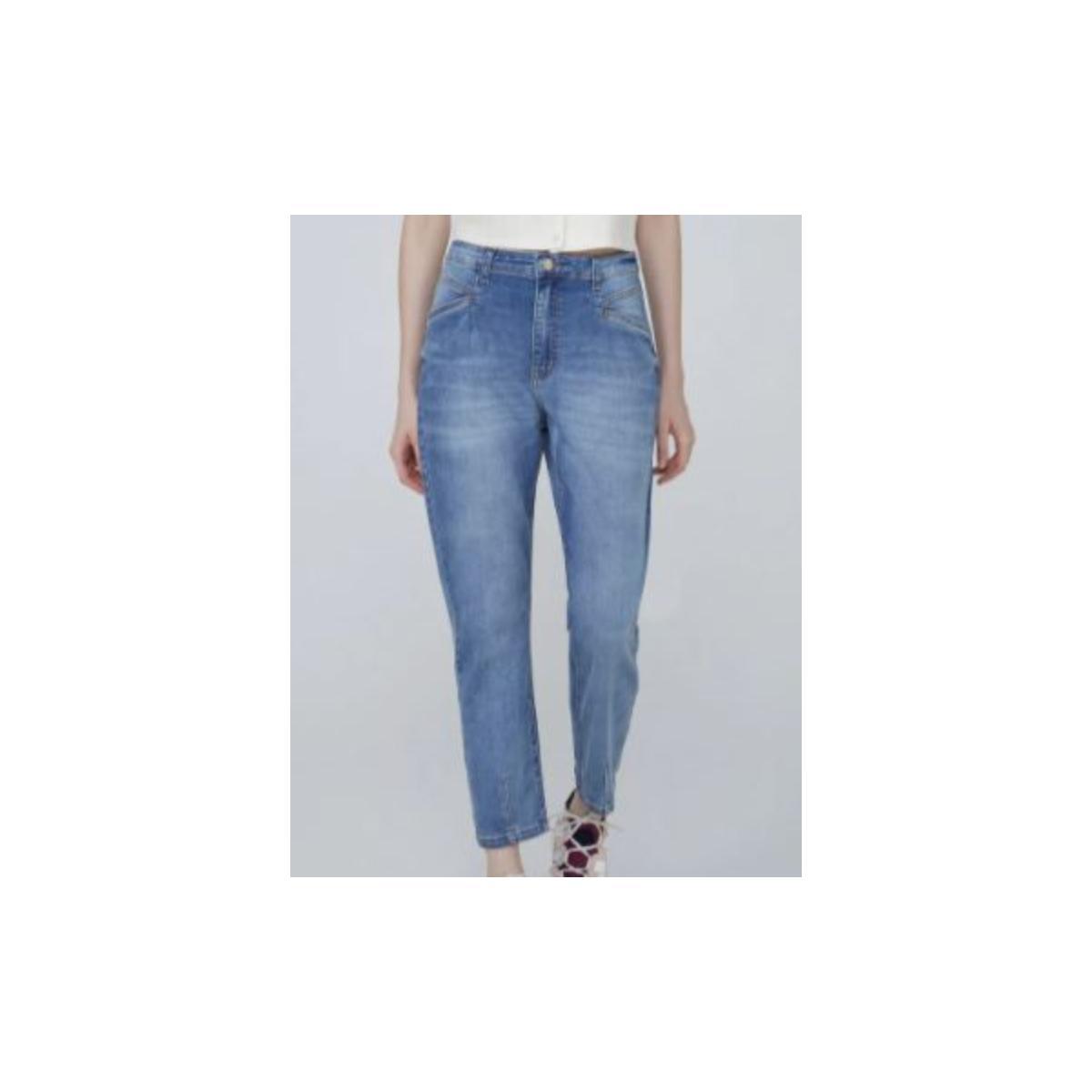 Calça Feminina Dzarm Zu86 1bsn Jeans
