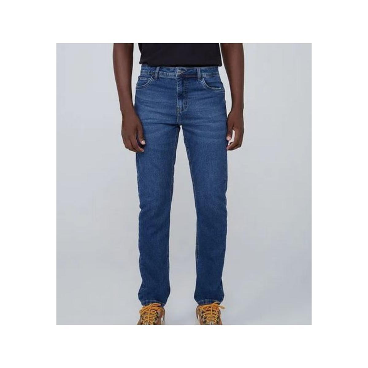 Calça Masculina Dzarm Zu67 1bsn Jeans Escuro