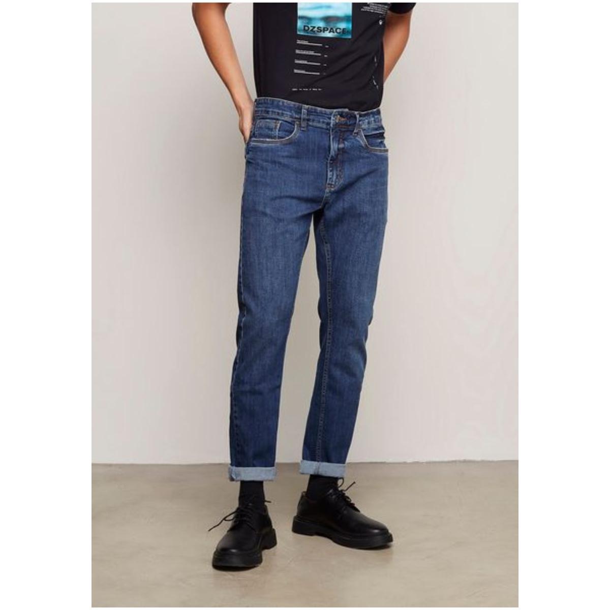 Calça Masculina Dzarm Zuak 1asn  Jeans Escuro