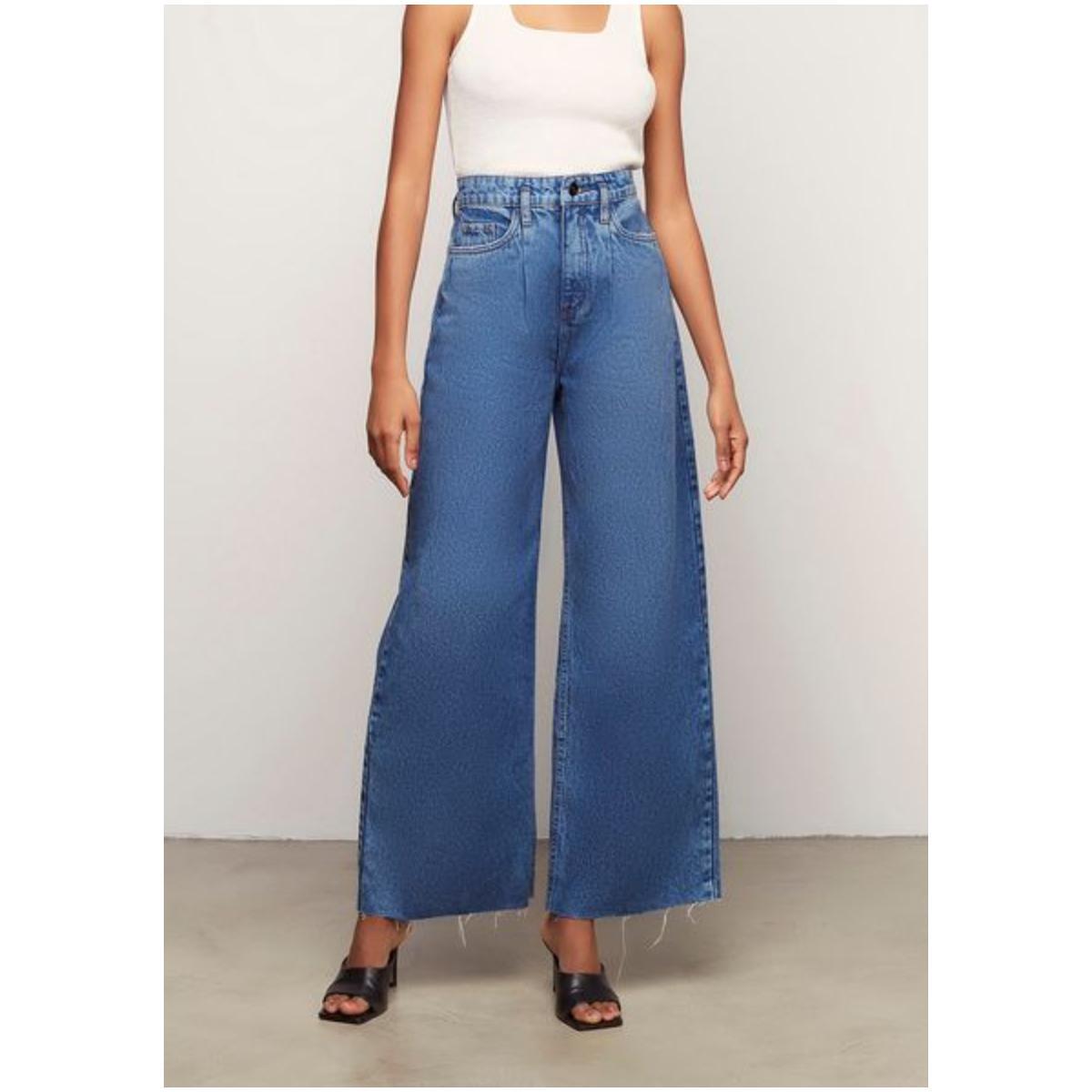 Calça Feminina Dzarm Zu9t 1asn  Jeans
