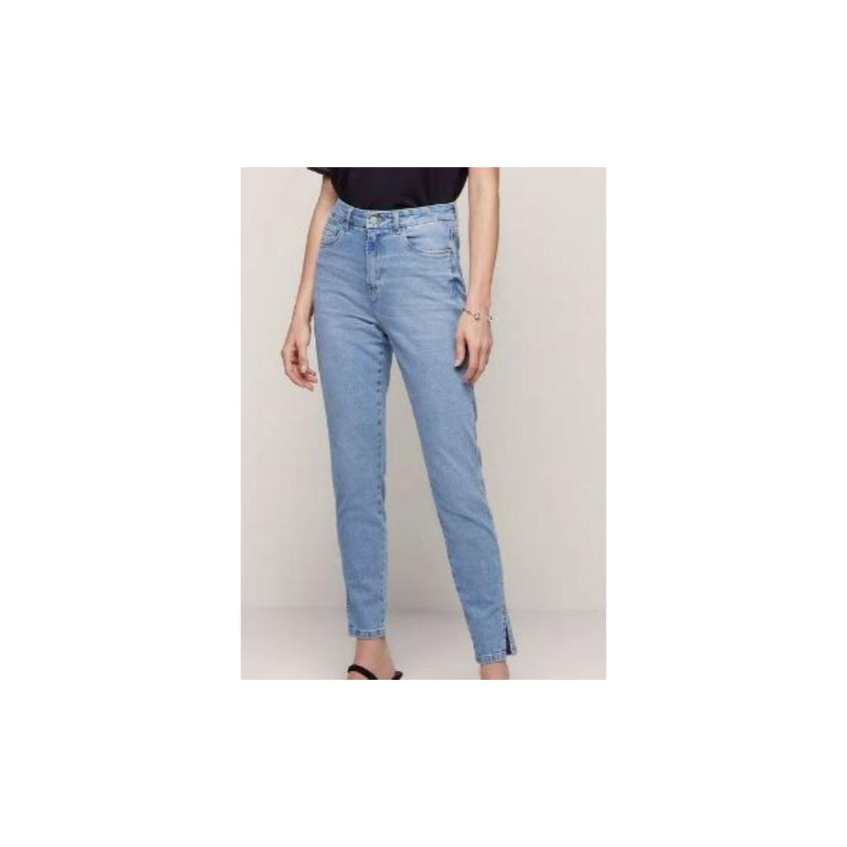 Calça Feminina Dzarm Zua2 1bsn  Jeans Claro