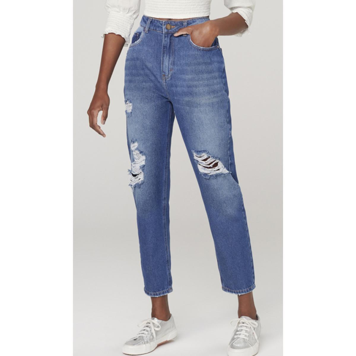 Calça Feminina Dzarm Z1r6 1bsn Jeans