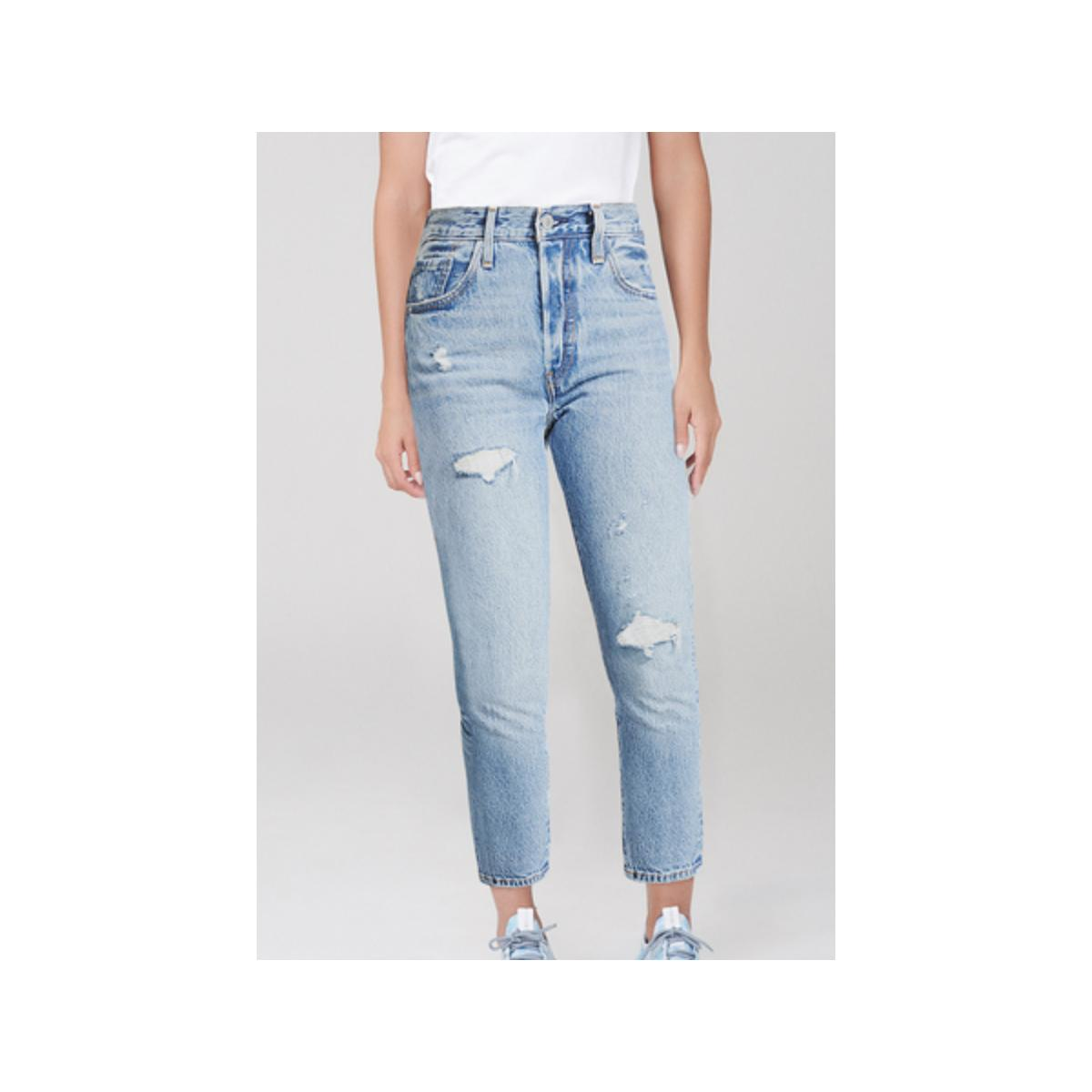 Calça Feminina Dzarm Z1r6 1csn  Jeans