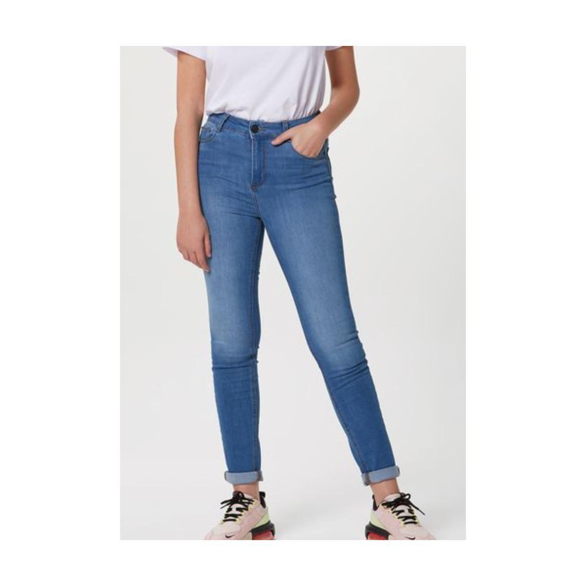 Calça Feminina Hering H998 1dsi Jeans Claro