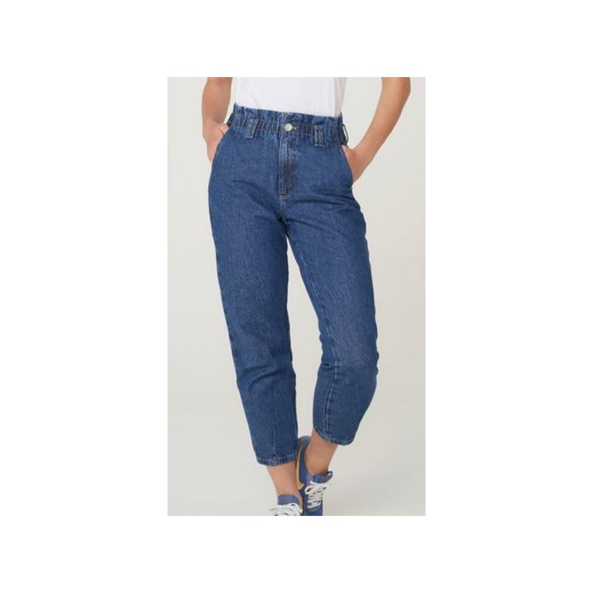 Calça Feminina Hering H9b0 1asn Jeans Escuro