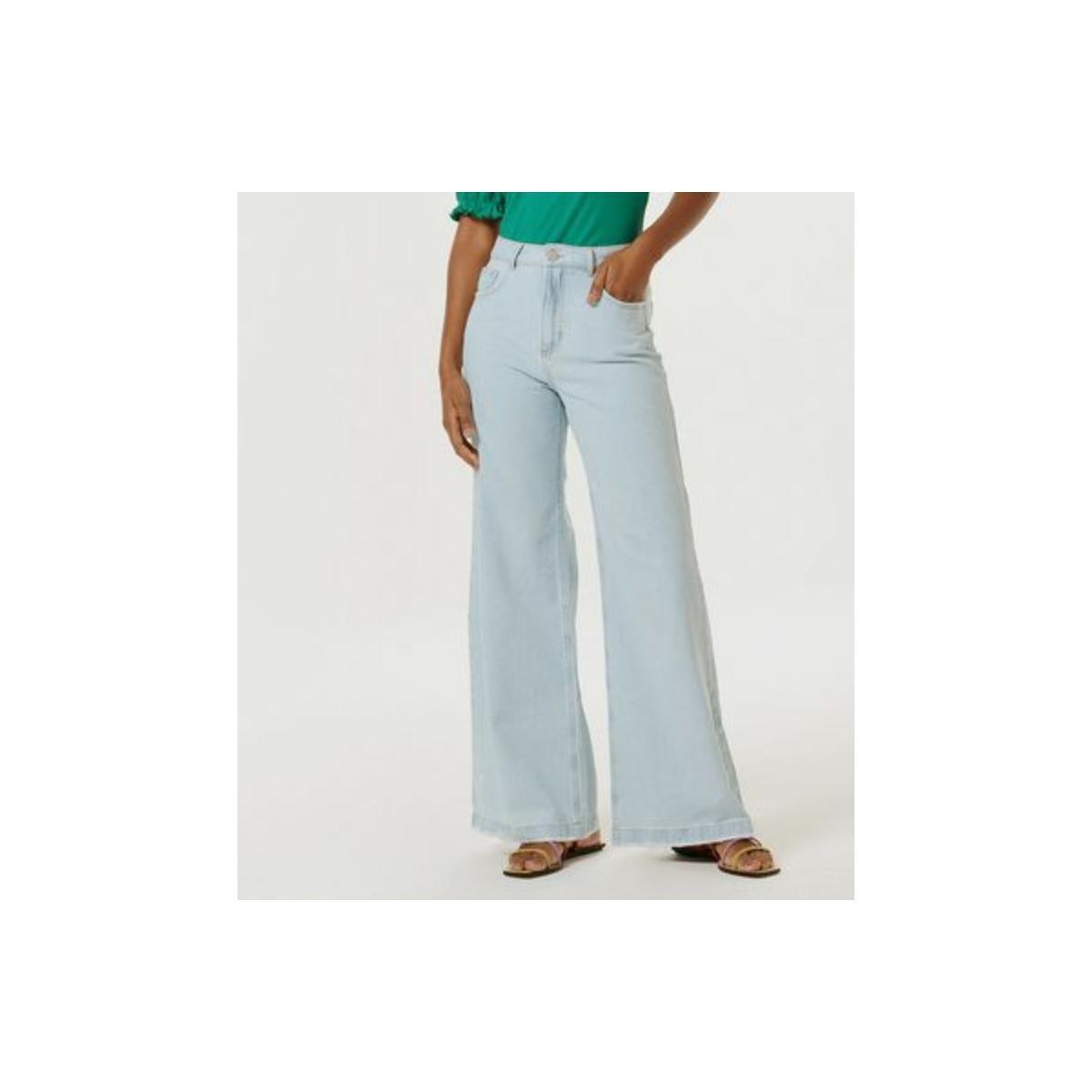 Calça Feminina Hering H9ag 1asn Jeans Claro