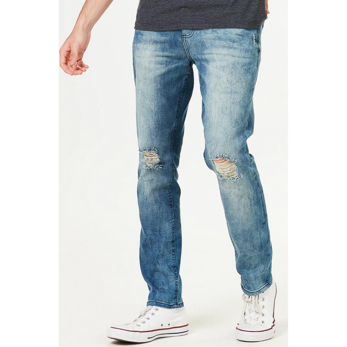 Calça Masculina Hering H1p5 Pghej Jeans