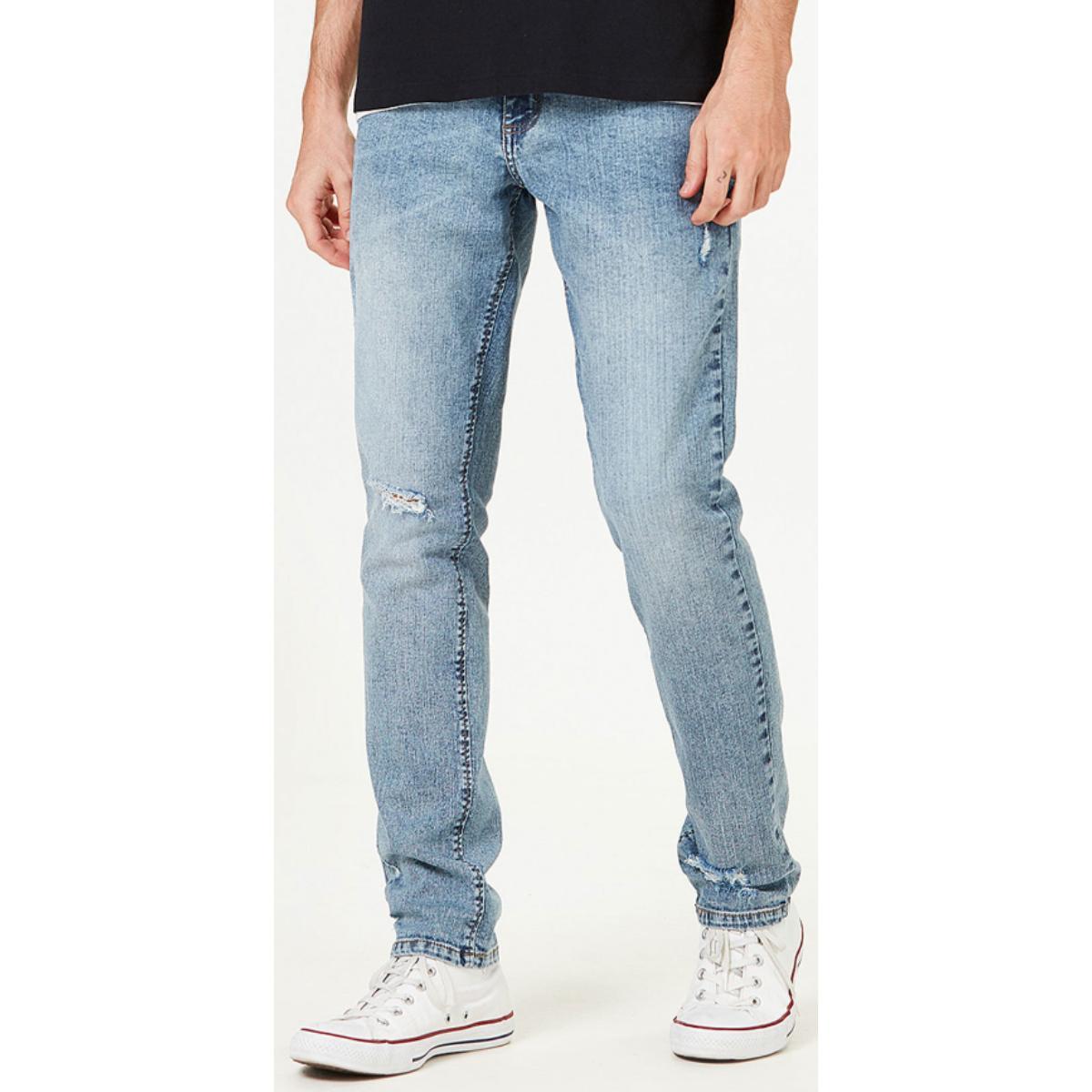 Calça Masculina Hering H1p8 Pjgej Jeans Claro