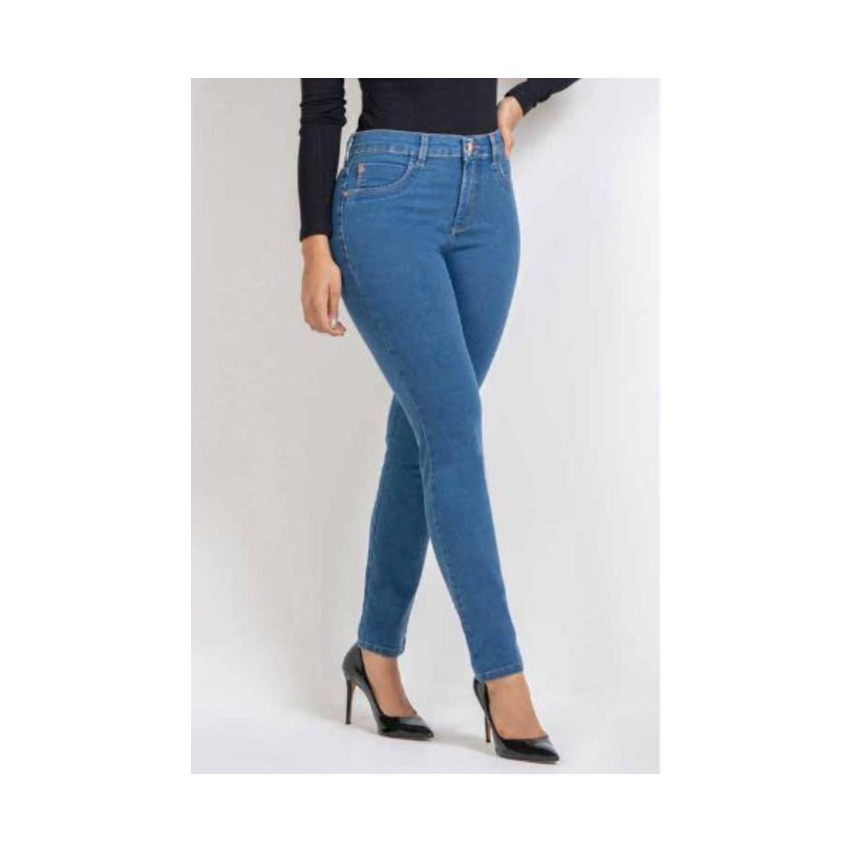 Calça Feminina Kacolako K21053 Jeans