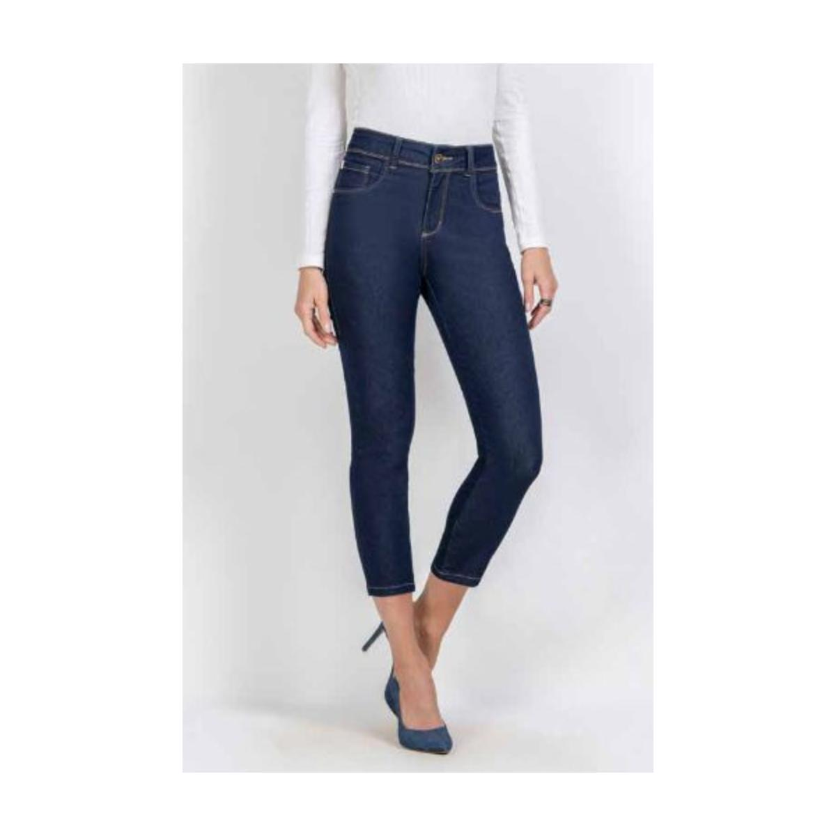 Calça Feminina Kacolako K37813 Jeans Escuro