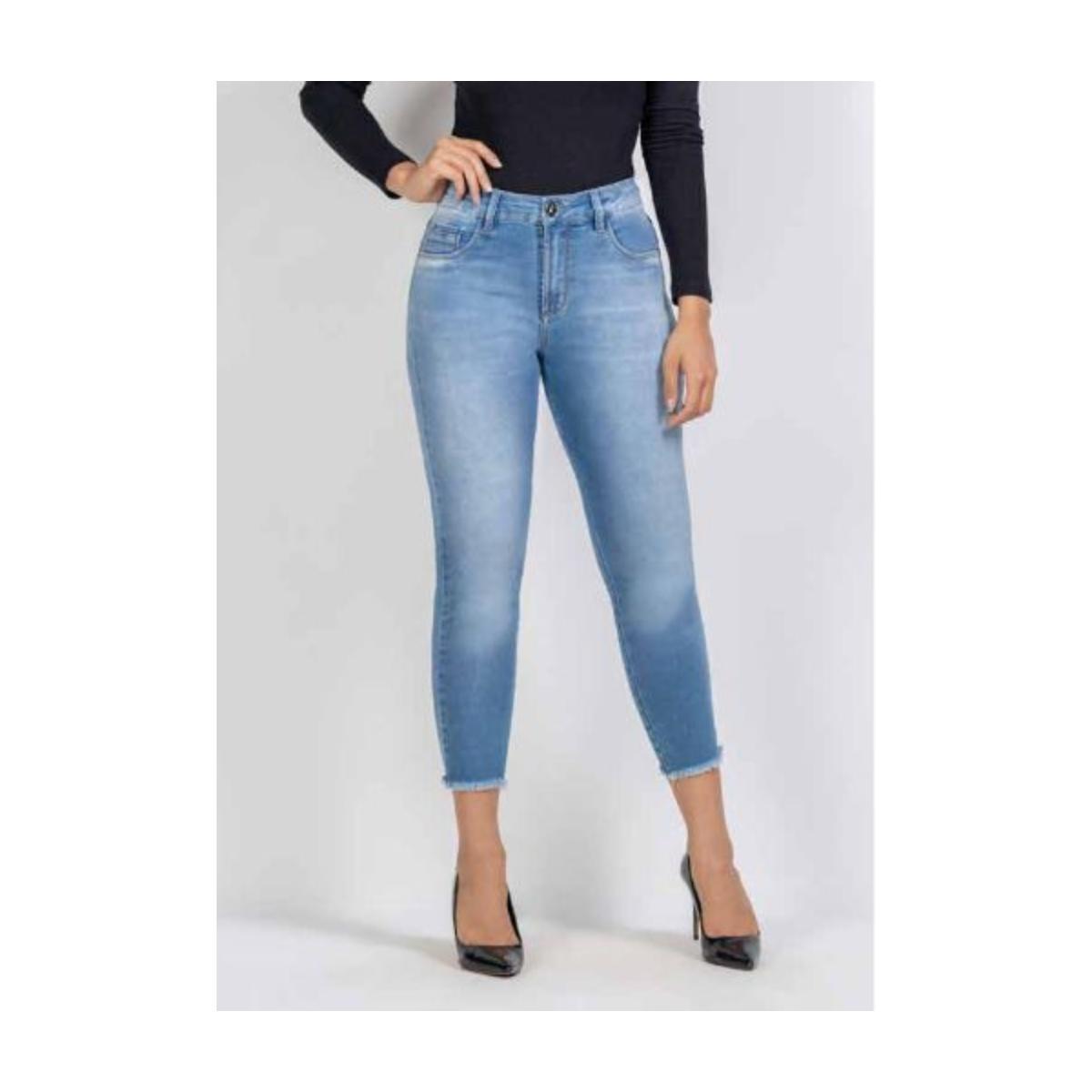 Calça Feminina Kacolako K37817 Jeans