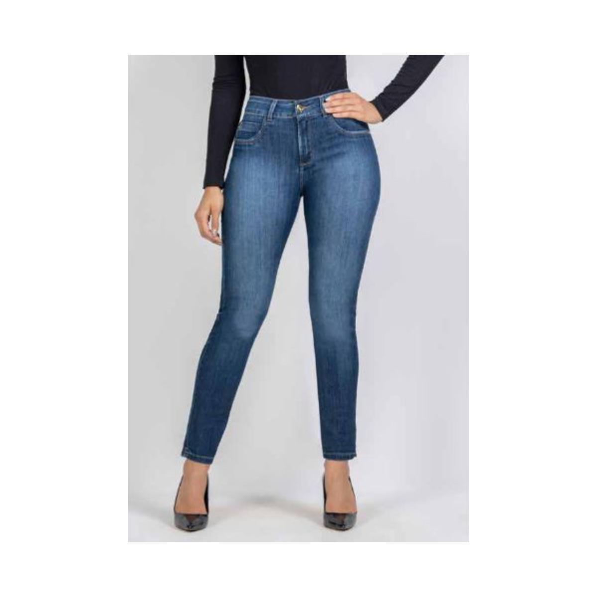 Calça Feminina Kacolako K37825 Jeans