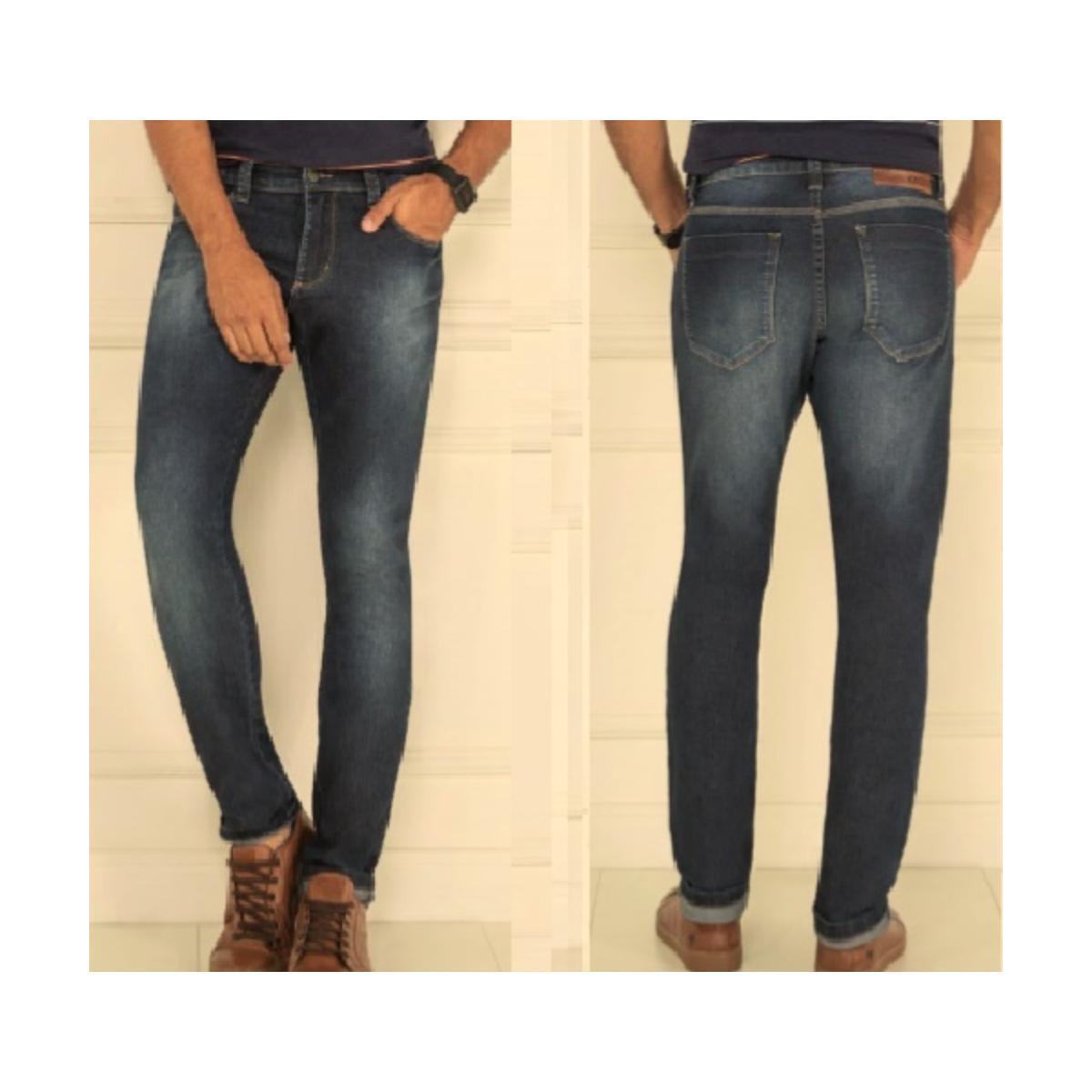 Calça Masculina Kacolako 34806 Jeans Escuro