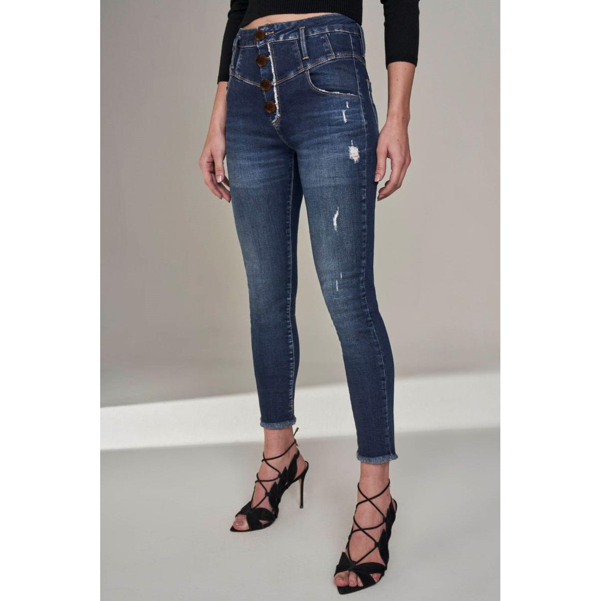 Calça Feminina Lado Avesso L115117 Jeans