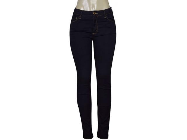 Calça Feminina Lado Avesso 102135 Jeans Escuro