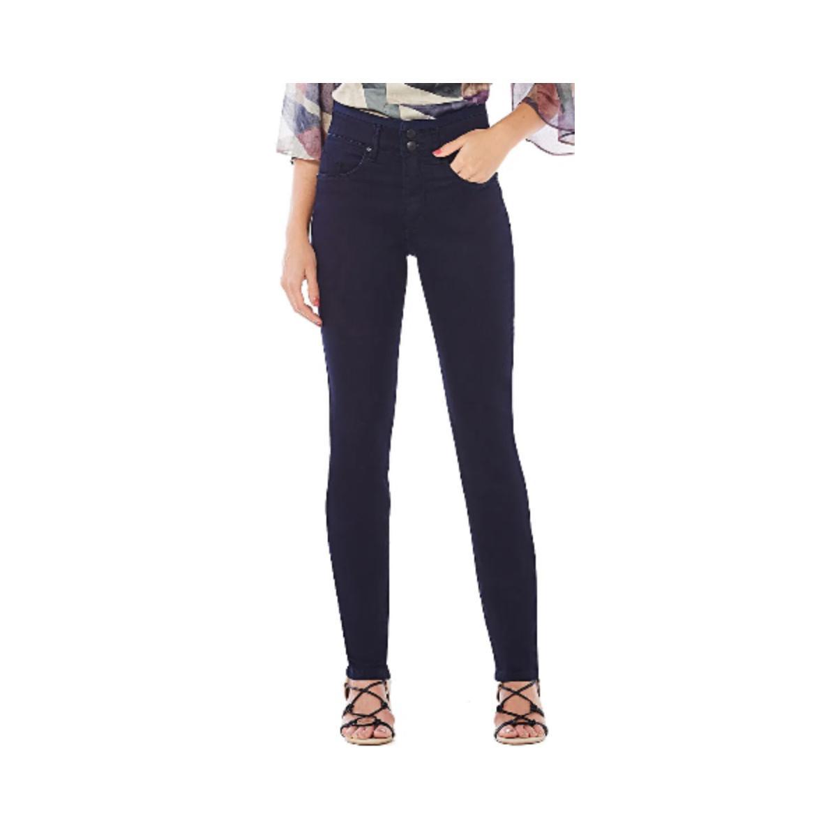 Calça Feminina Maria Valentina 203237 Jeans Escuro