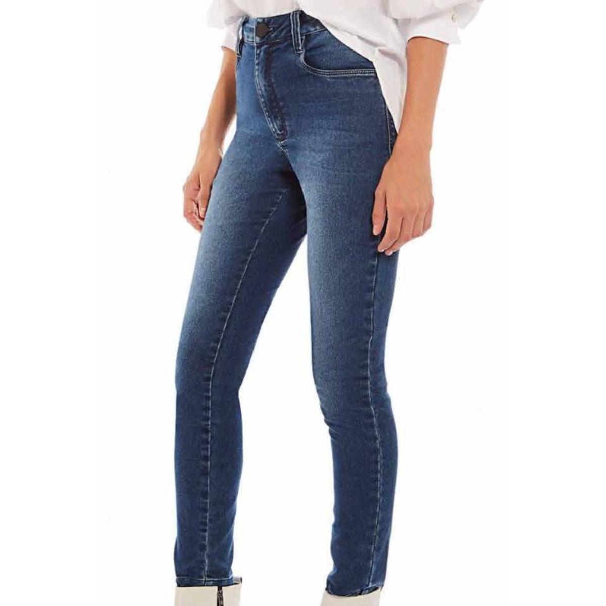 Calça Feminina Morena Rosa 10000204790 Jeans Escuro