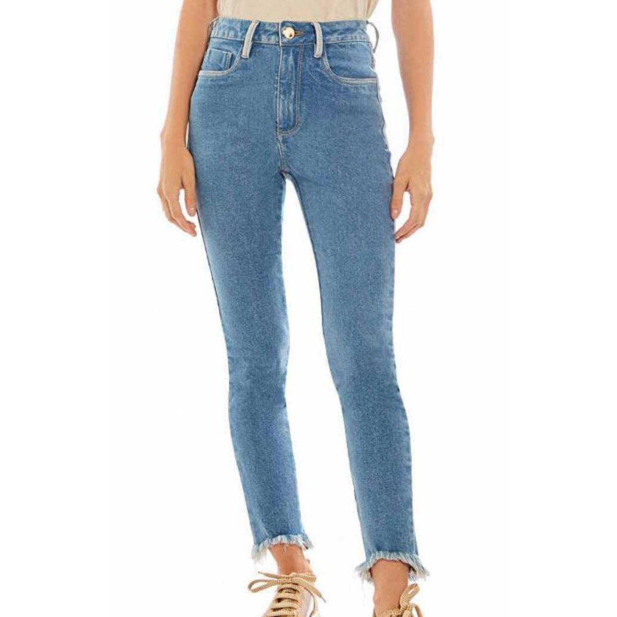 Calça Feminina Morena Rosa 10000204846 Jeans Claro