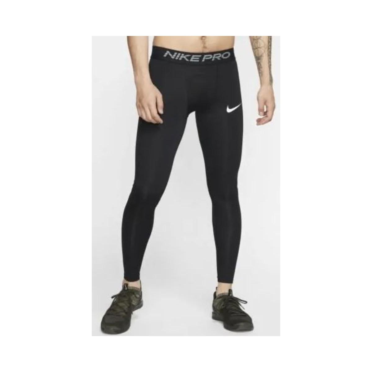 Calça Masculina Nike Bv5641-010 Pro Preto/branco