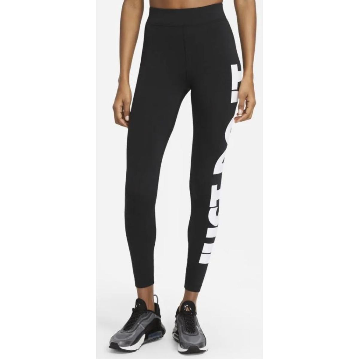 Calça Feminina Nike Cz8534-010 Sportwear Preto/branco