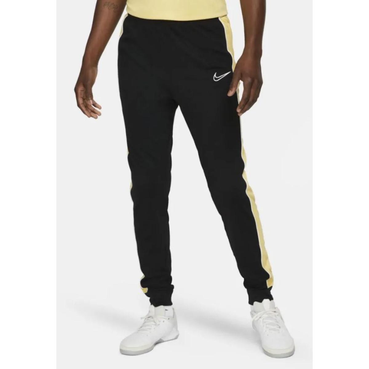 Calça Masculina Nike Cz0971-011 Dri-fit Academy Preto/amarelo