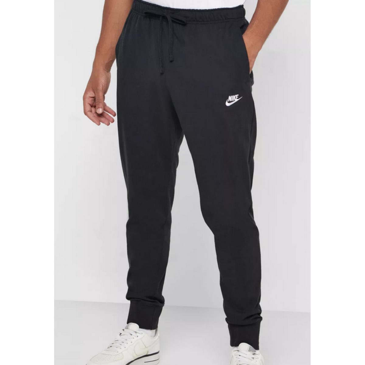 Calça Masculina Nike Bv2762-010 Nsw Club Jggr Preto/branco