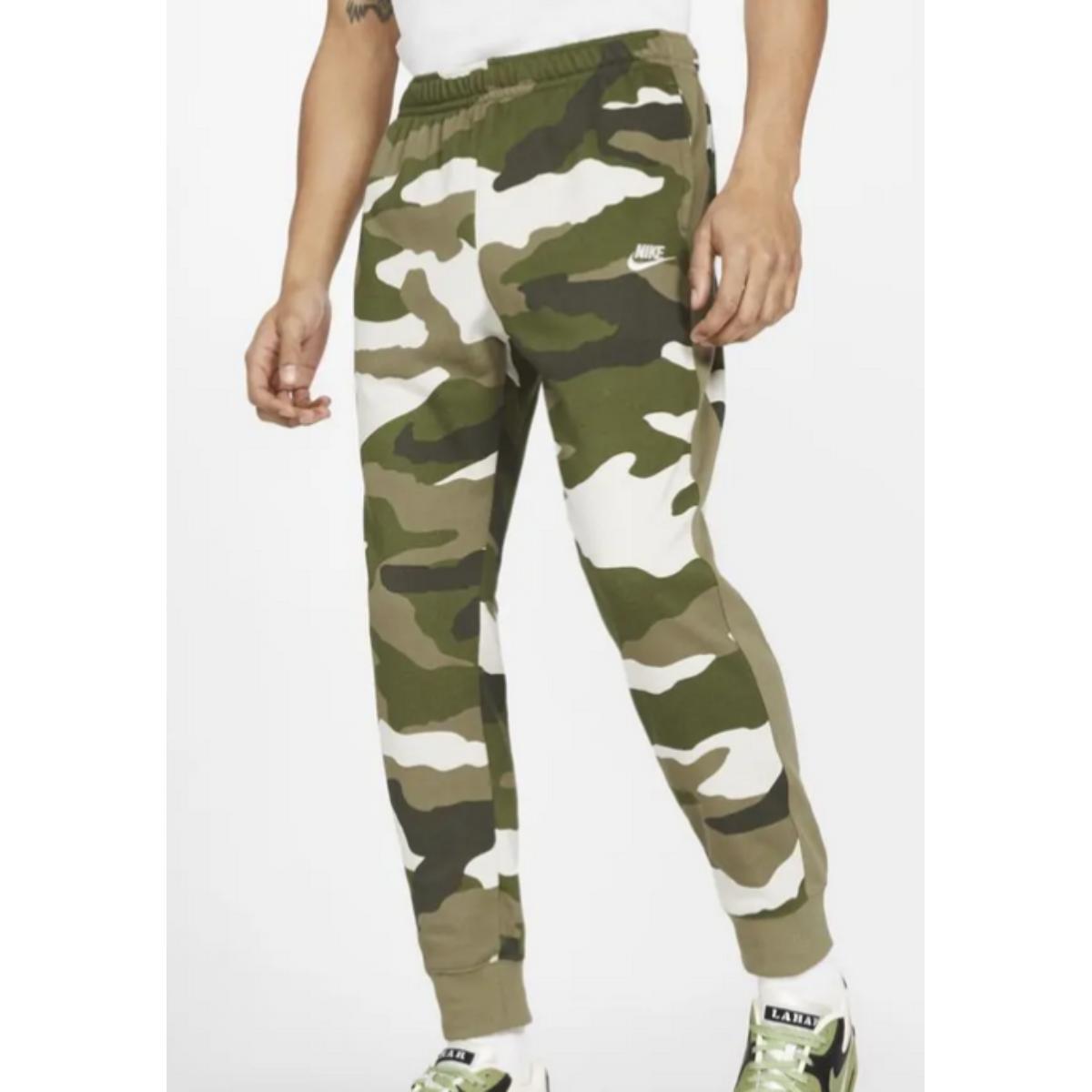 Calça Masculina Nike Bv2823-223 Sprtswear Club Camuflada