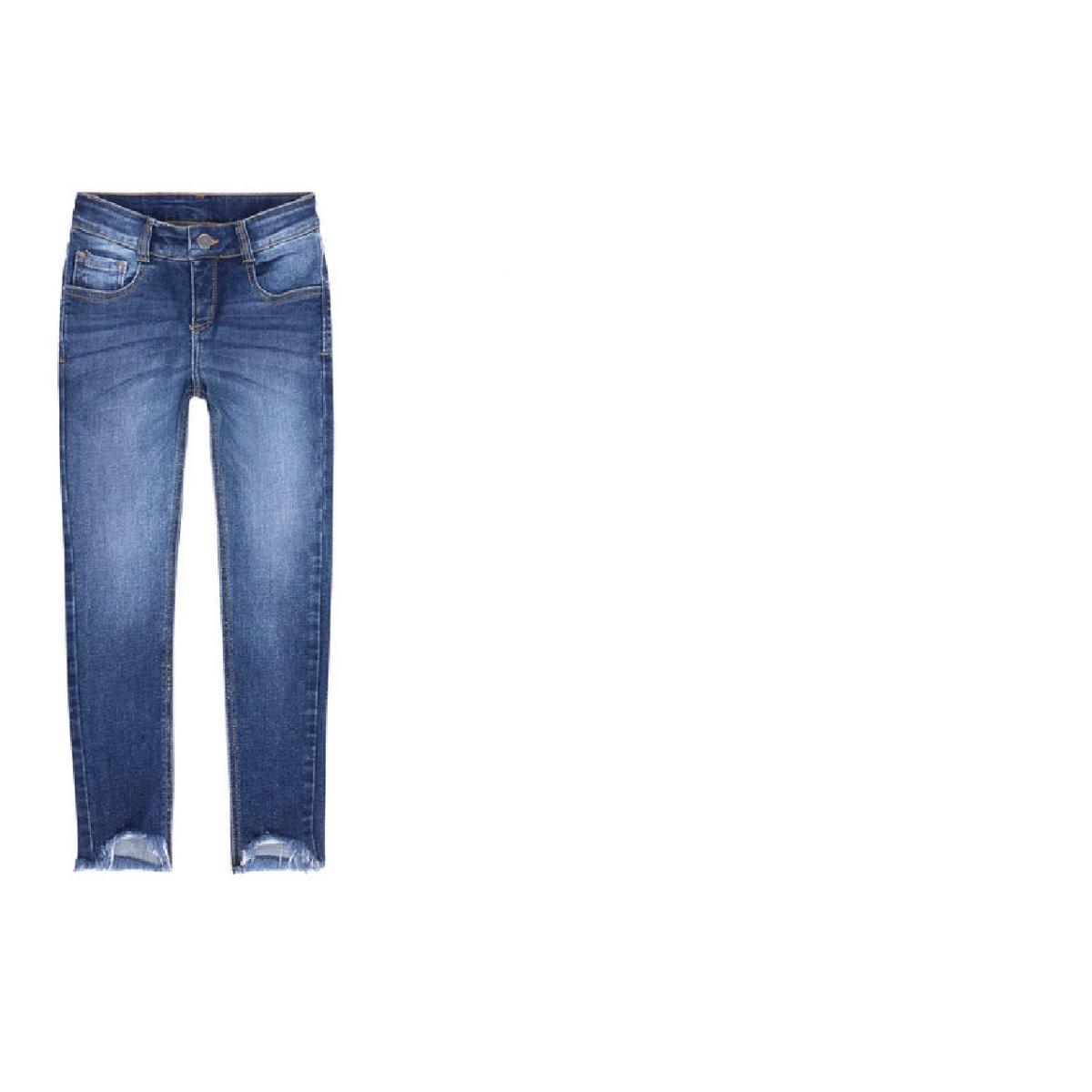 Calça Fem Infantil Puc Ubld 1aej Jeans
