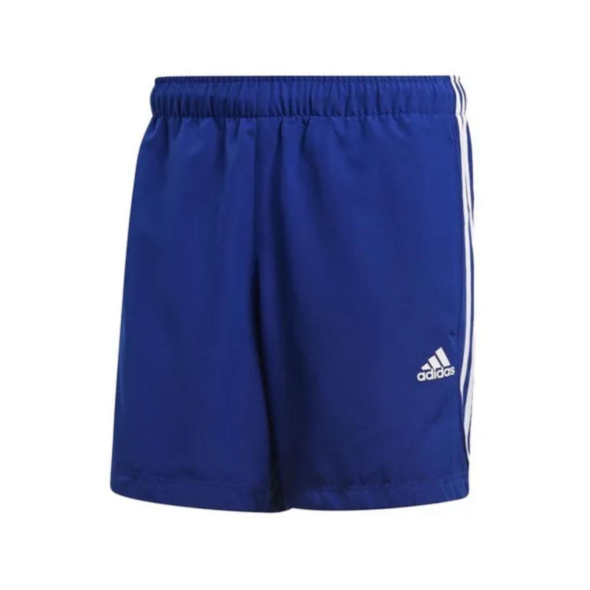 Calçao Masculino Adidas Cz7378 Ess 3s ch Azul/branco