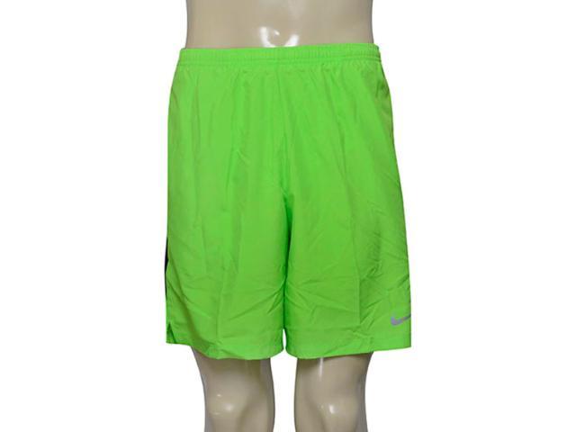 Calçao Masculino Nike 644242-313 7 Challenger   Verde Limão