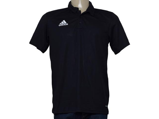 Camisa Masculina Adidas S22350 Corf cl Polo Preto