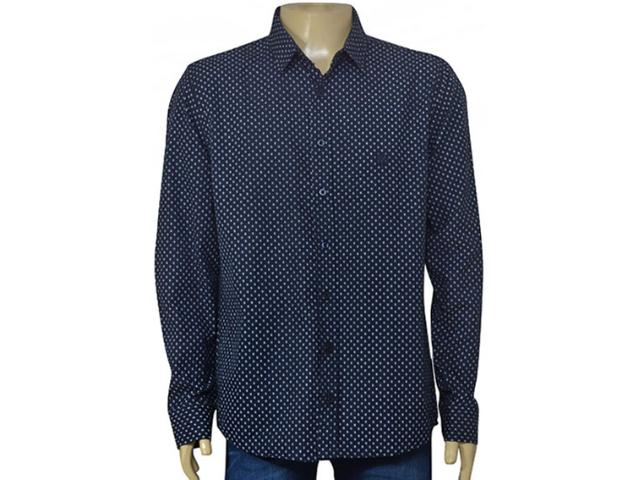 Camisa Masculina Cavalera Clothing 02.01.1466 Marinho