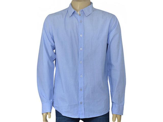 Camisa Masculina Cavalera Clothing 02.01.1481 Azul